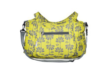 Kids Line Carryall Diaper Bag Lime Gecko Print