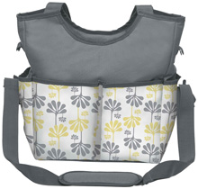 Kids Line Holds All Printed Diaper Bag Tote