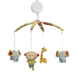 Kids Line Jungle Friends Musical Mobile