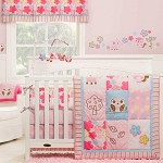 Graco Woodland Bedding Set 4-Pieces Girl