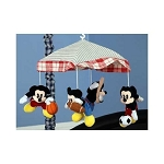 Kids Line Vintage Mickey Musical Mobile
