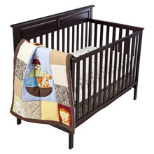 Kids Line Noah's Ark 4 Piece Bedding Set