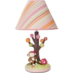 Kids Line Miss Monkey Lamp