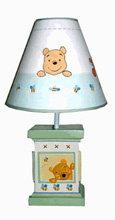 Kids Line Pooh Soft & Fuzzy Pooh Lamp Base & Shade