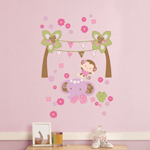 Kids Line Blossom Tails Wall Decals