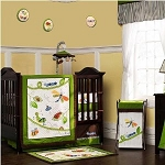 Kids Line Cute As A Bug  Crib Bedding 8pc Set