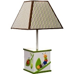 Kids Line Cute As A Bug Lamp & Shade