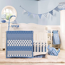 kidsline Dena Indigo 5PC Bedding Set
