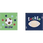 Kids Line All Sports 2pc Wall Art