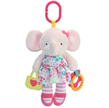Carter's Elephant Plush On-the-Go Clip