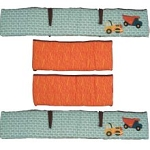 Kids Line Zutano Construction Bumper