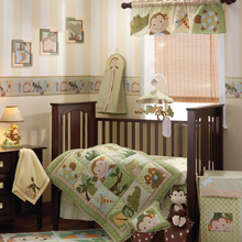 Lambs & Ivy Papagayo 10 Piece Crib Bedding Set