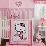 Bedtime Originals Hello Kitty Ballerina 3 Piece Bedding Set
