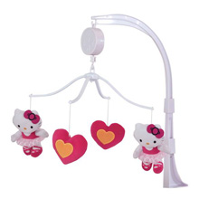 Bedtime Originals Hello Kitty Ballerina Musical Mobile