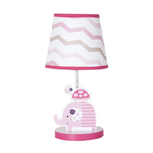 Gingersnap Ellie Lamp Base and Shade