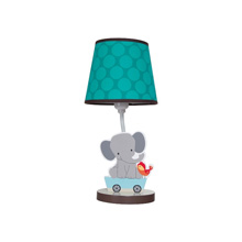 Bedtime Originals Choo Choo Lamp w/Shade & Bulb