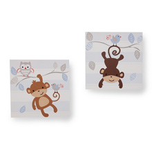 Bedtime Originals Mod Monkey Wall Decor