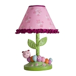 Lambs & Ivy Sunshine Garden Lamp and Shade