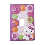 Lambs & Ivy Hello Kitty Garden Switch Plate