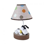 Lambs & Ivy BFF Snoopy Lamp With Shade & Bulb