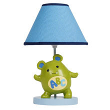 Lambs & Ivy Alpha Baby Lamp Base & Shade
