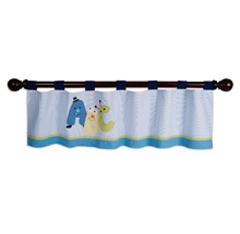 Lambs & Ivy Alpha Baby Window Valance