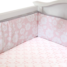Lambs & Ivy Swan Lake Perfect Fit 4 Piece Crib Bumper