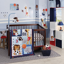 Lambs & Ivy Future All Stars 4 Piece Bedding Set