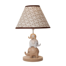 Lambs & Ivy Oatmeal Cookie Lamp Base & Shade