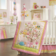 Lambs & Ivy Happi Tree by Dena 8 Piece Crib Bedding Set