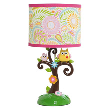 Lambs & Ivy Happi Tree by Dena Lamp Base & Shade