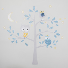Happi - Night Owl by Dena™ Jumbo Wall Appliqu�