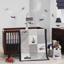 Lambs & Ivy Evan 3 Piece Bedding Collection
