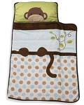 Lambs & Ivy Brown Monkeys Nap Mat