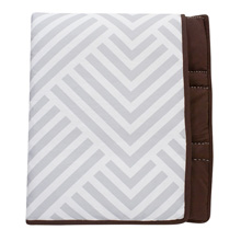 Lambs & Ivy Jett Mix and Match Collection Reversible Coverlet