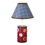 Cocalo A to Z Boy Lamp Base & Shade