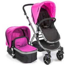 Baby Roues LeTour Stroller-Pink