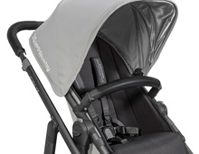 Uppababy Leather Bumper Bar Covers Saddle Fits Vista, Cruz and Rumbleseat 2015