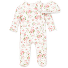 Little Me Sleepwear with Hat Preemie-9n-Girl