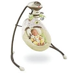 Baby Swing - Fisher-Price - My Little Snugabunny Cradle 'n Swing