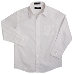 French Toast Long Sleeve Shirt, White