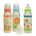 Nuby Bottle Nurser 8oz in Print