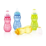 Nuby Non-Drip™ Standard Neck Bottles, 11 oz - 3 Pack