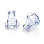 Nuby Soft Sipper Spouts Vari-Flo Valve  - 2 Pack WIDE NECK