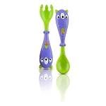 Nuby Monster Fork & Spoon Set