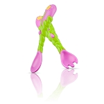 Nuby Flower Child Fork & Spoon Set