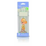Nuby Precious Moments Clear Rounded Printed Bottles