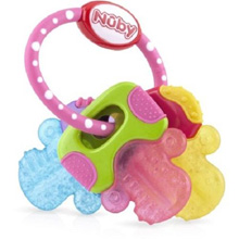 Luv n Care Nuby Ice Gel Teether Keys Pink