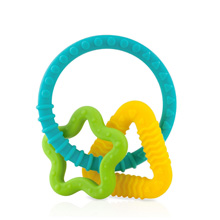 Luv n Care Chewy Charms Silicone Teether