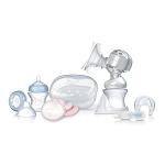 Nuby Natural Touch™ Rhythm™ Dual Action Electric Breast Pump and Sterilizer Kit